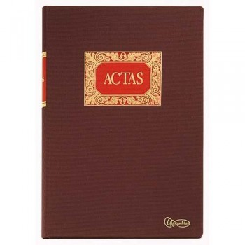 Libro ACTAS Folio Natural 100 h. DOHE