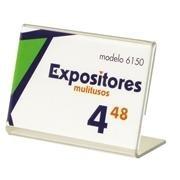 EXPOSITOR SOBREMESA HORIZONTAL 6150 (PRECIOS)