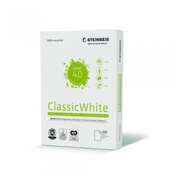 PAPEL A4 80 GR. 500 HOJAS BLANCO MULTIFUNCIÓN RECICLADO CLASSIC WHITE