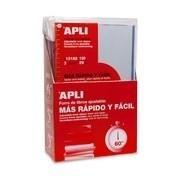 FORRO AJUSTABLE APLI LIBROS 29CM PACK3