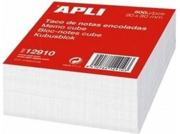 TACO DE NOTAS BLANCO ENCOLADO 8X8