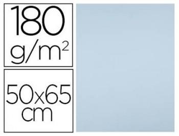 CARTULINA 50X65CM. 180GR. AZUL CIELO PAQ. 25 HOJAS FIXO