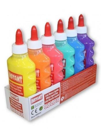 Cola líquida color Instant COLOR SURTIDO 6 unidades 180ml