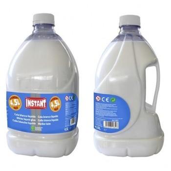 Cola blanca líquida garrafa 4,5l. Instant