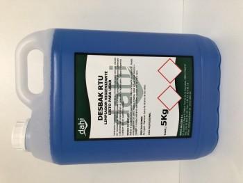 Limpiador desinfectante bactericida 5l Desbak RTU