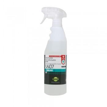 Virucida hidroalcohólico 750ml botella con pulverizador JAGUAR V407