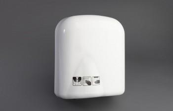 Secamanos industrial ABS blanco 1590w