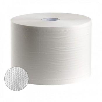 Bobinas industriales 2 capas 400M 3,5kg celulosa pack 2 un