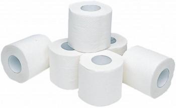 Papel higiénico encolado 2 capas 35m celulosa fardo 9 pack 12 rollos