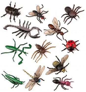 ANIMALES INSECTOS 12 UDS