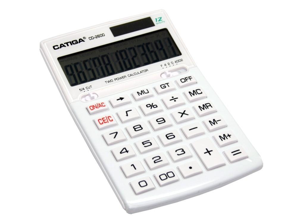 CALCULADORA CATIGA SOBREMESA 12DIG CDE-2600