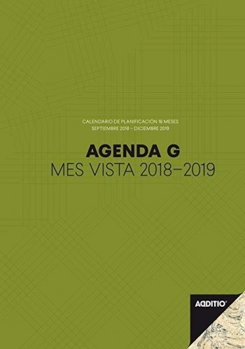 CUADERNO PROFESOR ADDITIO AGENDA G MES VISTA