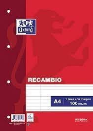 RECAMBIO FOLIO 4ANI DOS RAYAS ANCHAS 3,5