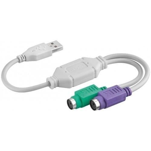 CABLE CONVERSOR PS2/USB