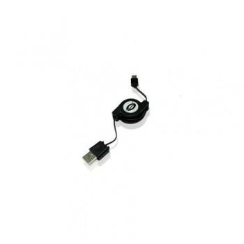CABLE IMPRESORA USB  RETRACTIL ( 0.8 m)