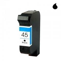 HP CARTUCHO COMPATIBLE 45 NEGRO (51645A)