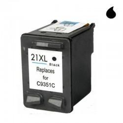 HP CARTUCHO COMPATIBLE 21XL C9351A NEGRO