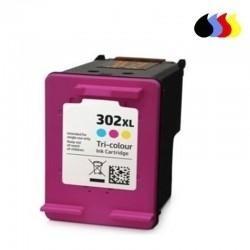 HP CARTUCHO COMPATIBLE 302XL COLOR