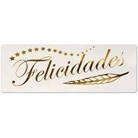 ETIQUETAS FELICIDADES PRYSE 50X18